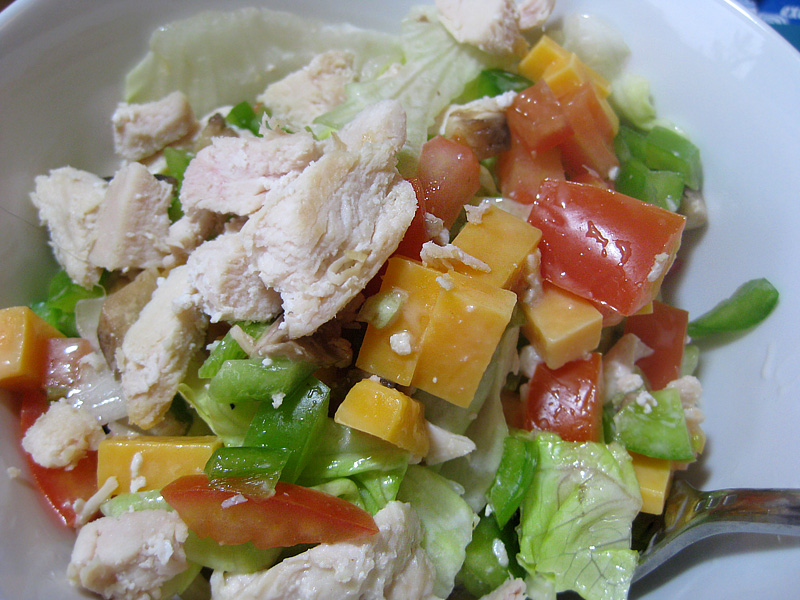 Chicken Ranch Salad | spiffykerms.com