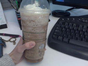 frap frap yummies. GIT IN THE BELLAY