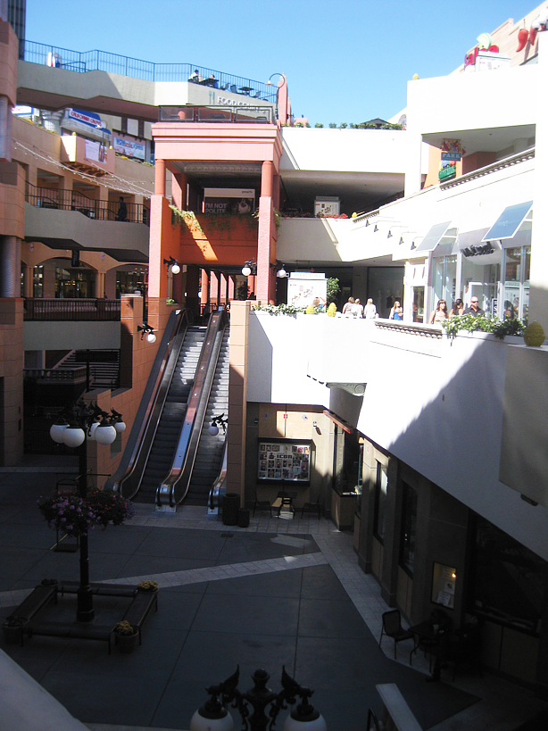 ... Loft were all in this outdoor mall type of thing called Horton Plaza