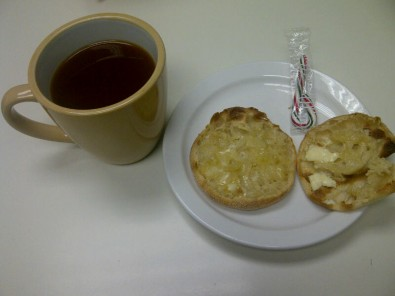 breakfast at work