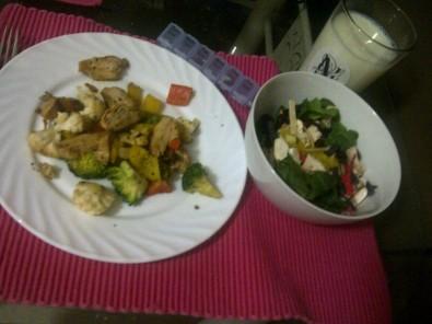 eat supper