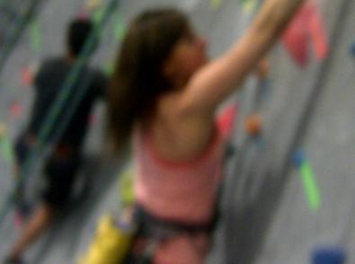 blurry climb