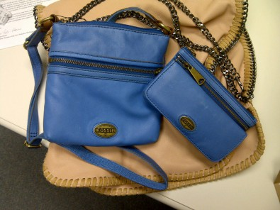 Fossil mini crossbody
