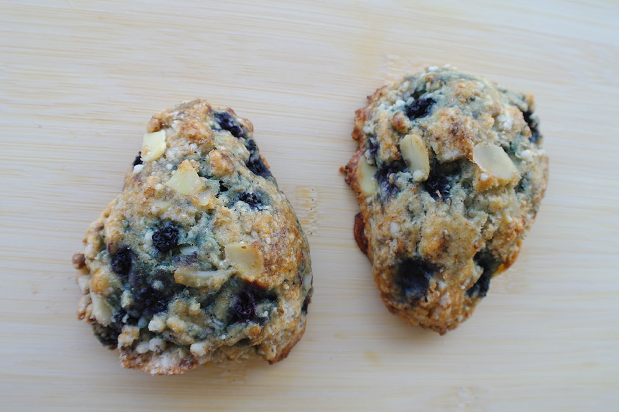 Blueberry Almond Scones | spiffykerms.com
