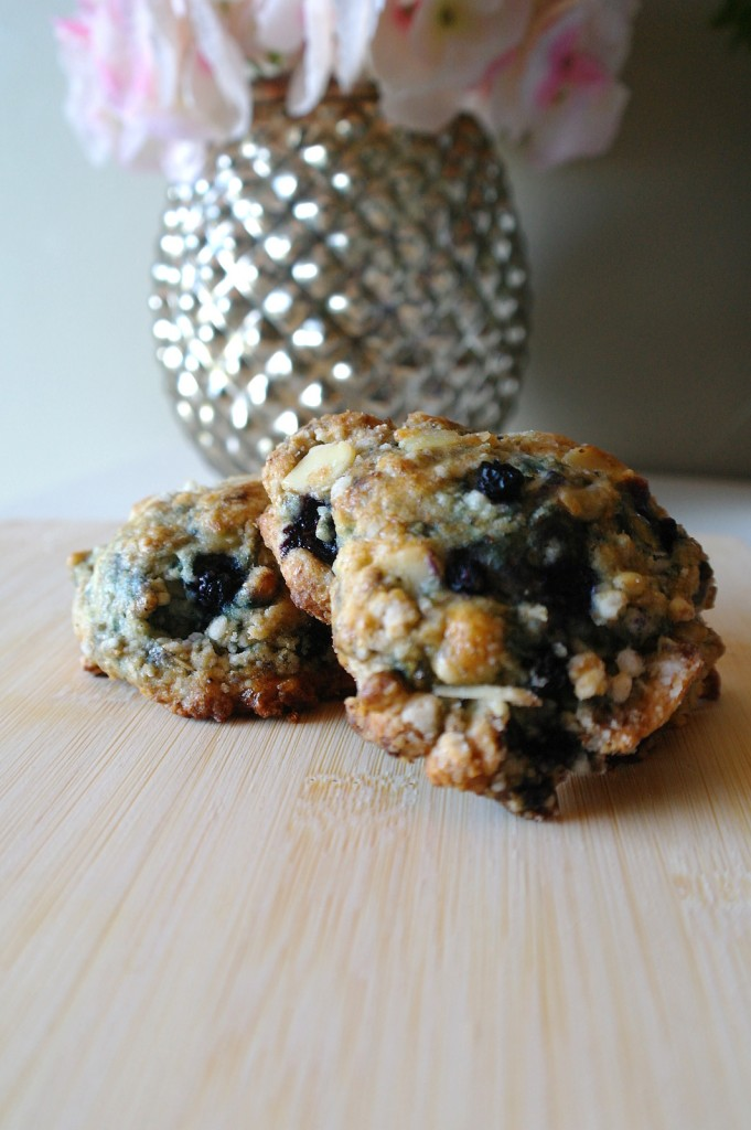blueberry-almond-scones