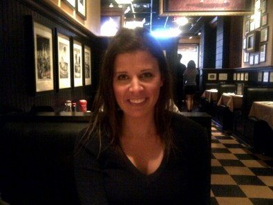 posing at Jack Astors