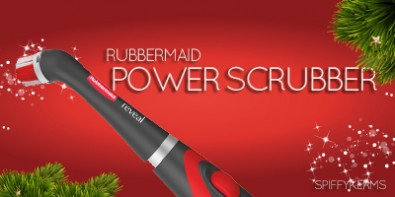 Holiday Gift Guide RUBBERMAID-POWER-SCRUBBER
