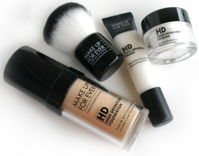make up for ever hd complexion kit