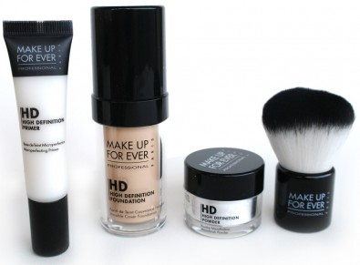 make up for ever hd complexion set