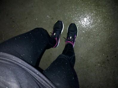 snow jog