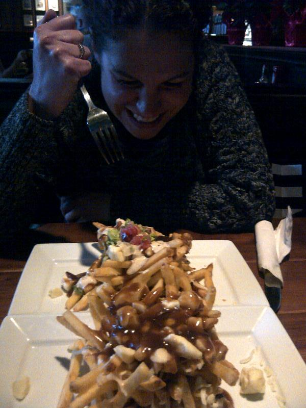 julie and poutine