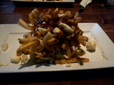 stacked poutine