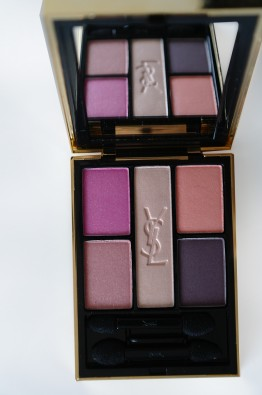 Yves Saint Laurent Flower Crush Palette open