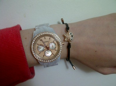 fossil stella and fox bracelet