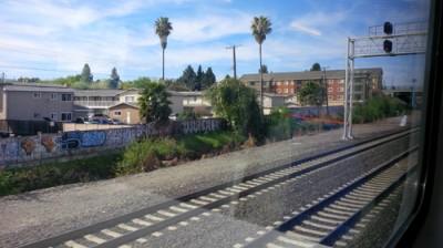 Caltrain-ride