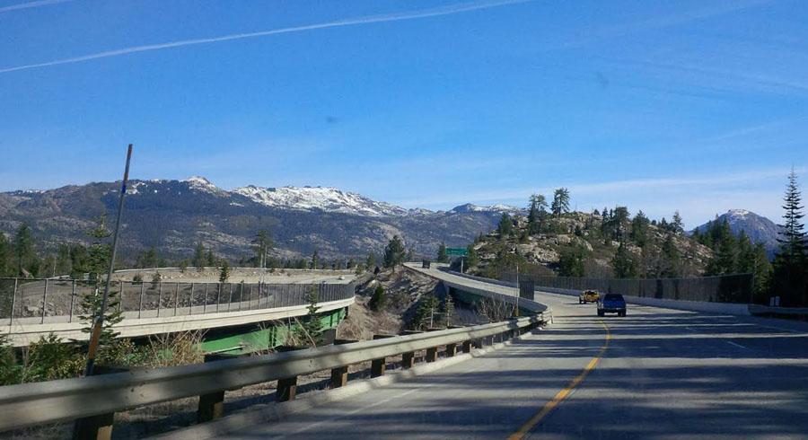 Mountains near Lake Tahoe