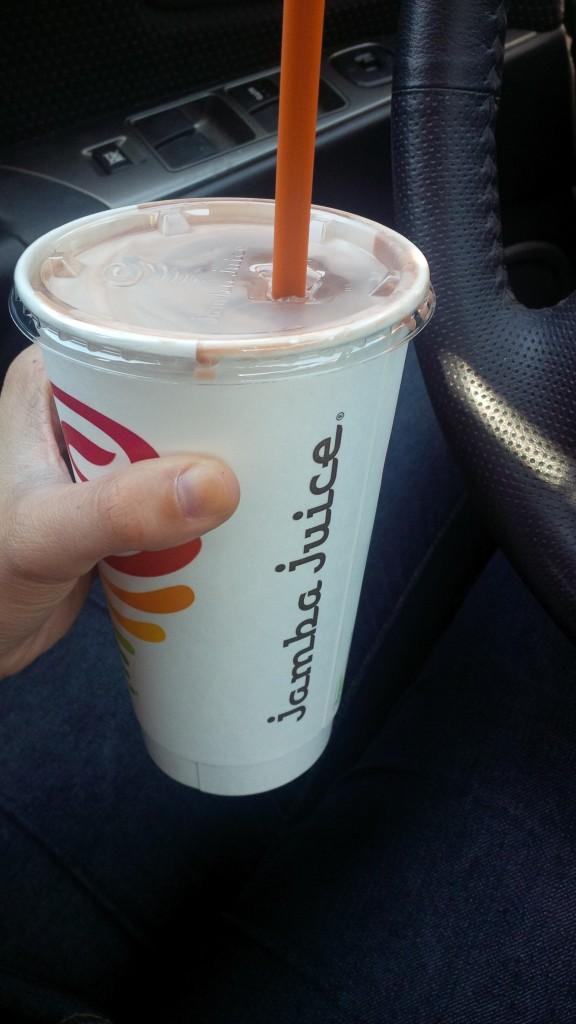 Chocolate Mooed Jamba Juice