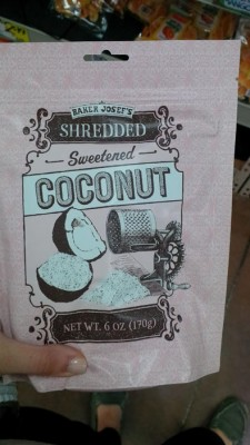 Trader Joes shredded coconut
