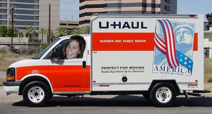 nancy in uhaul