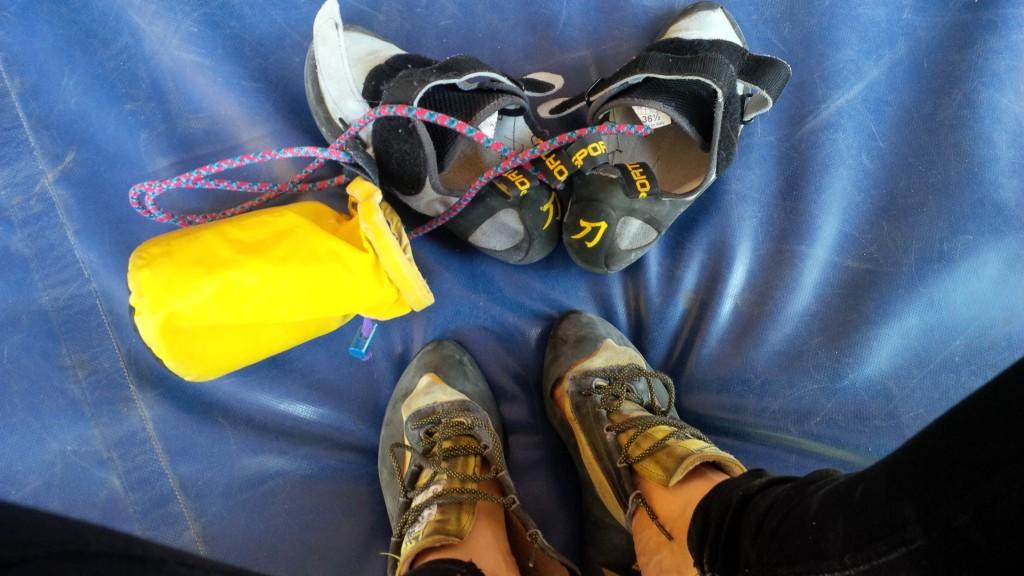LaSportiva climbing shoes