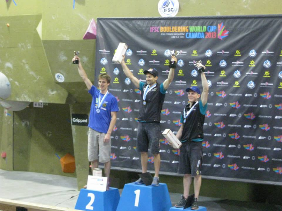 IFSC Bouldering World Cup 2013