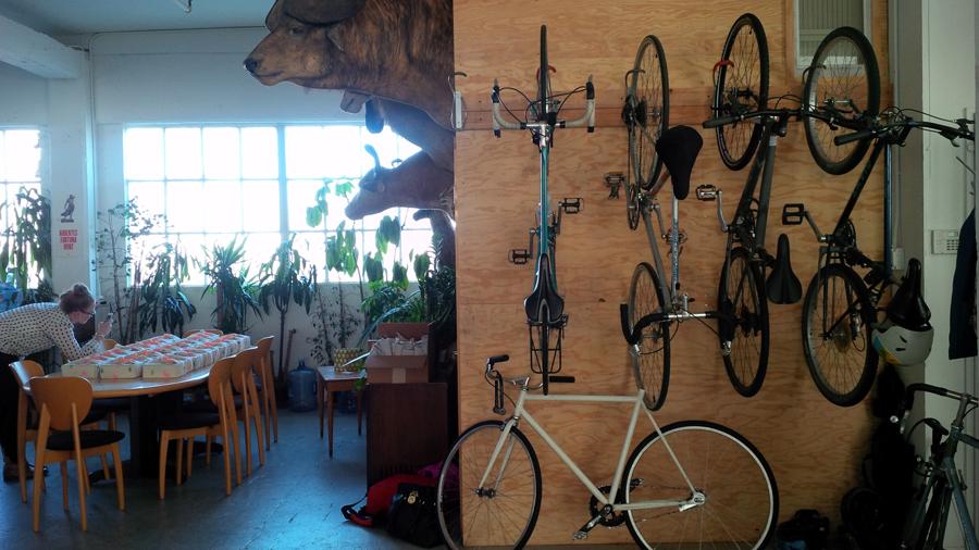 Social Print Studio bikes