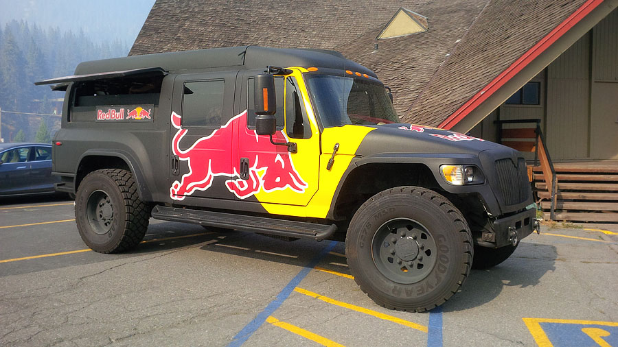Redbull-truck