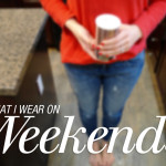 What I'm Wearing: Weekend edition