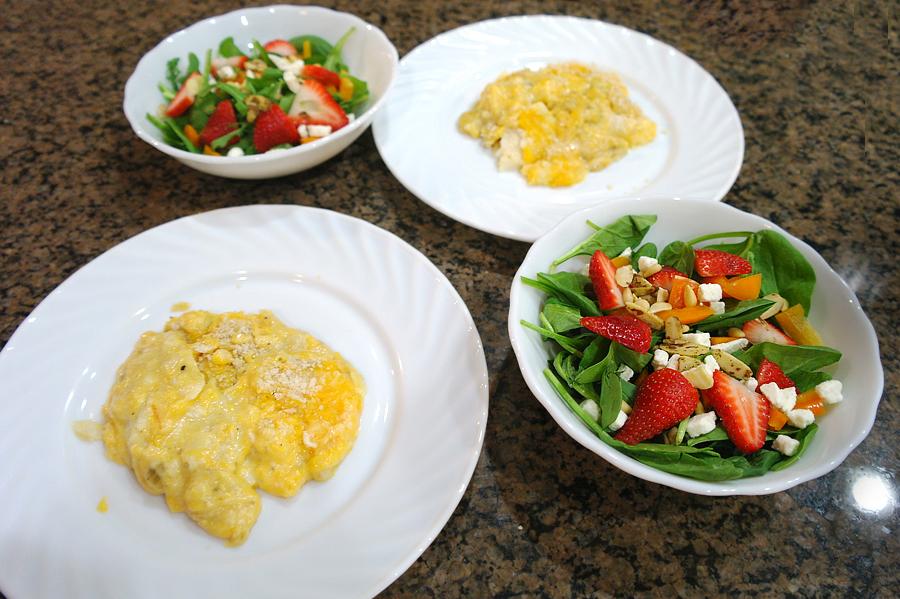 Cod-au-gratin-and-salad