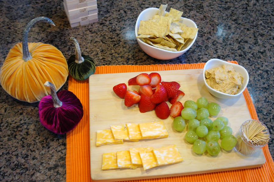 Snack-plate