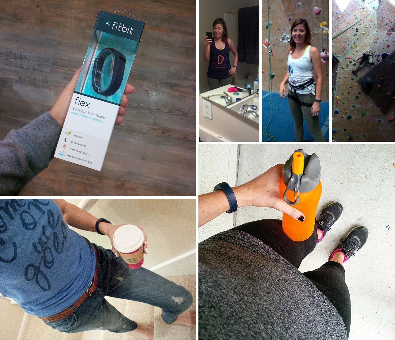 Wearing-Fitbit