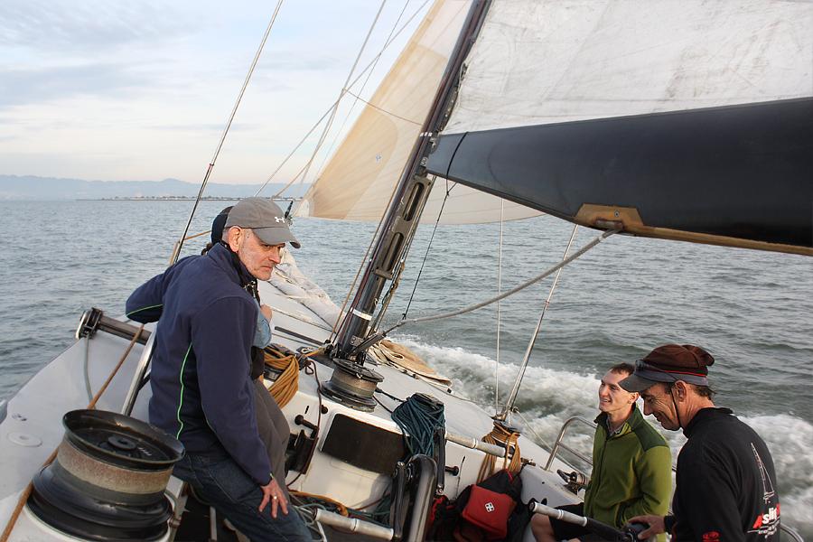 Tilted-yacht
