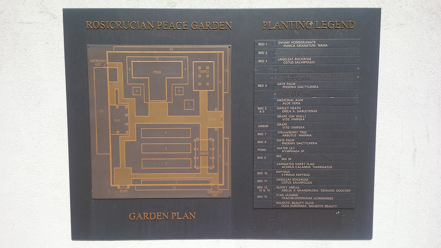 Rosicrucian-Peace-Garden
