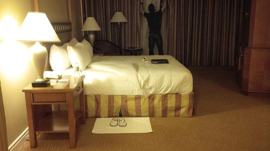 Husband-closing-blinds