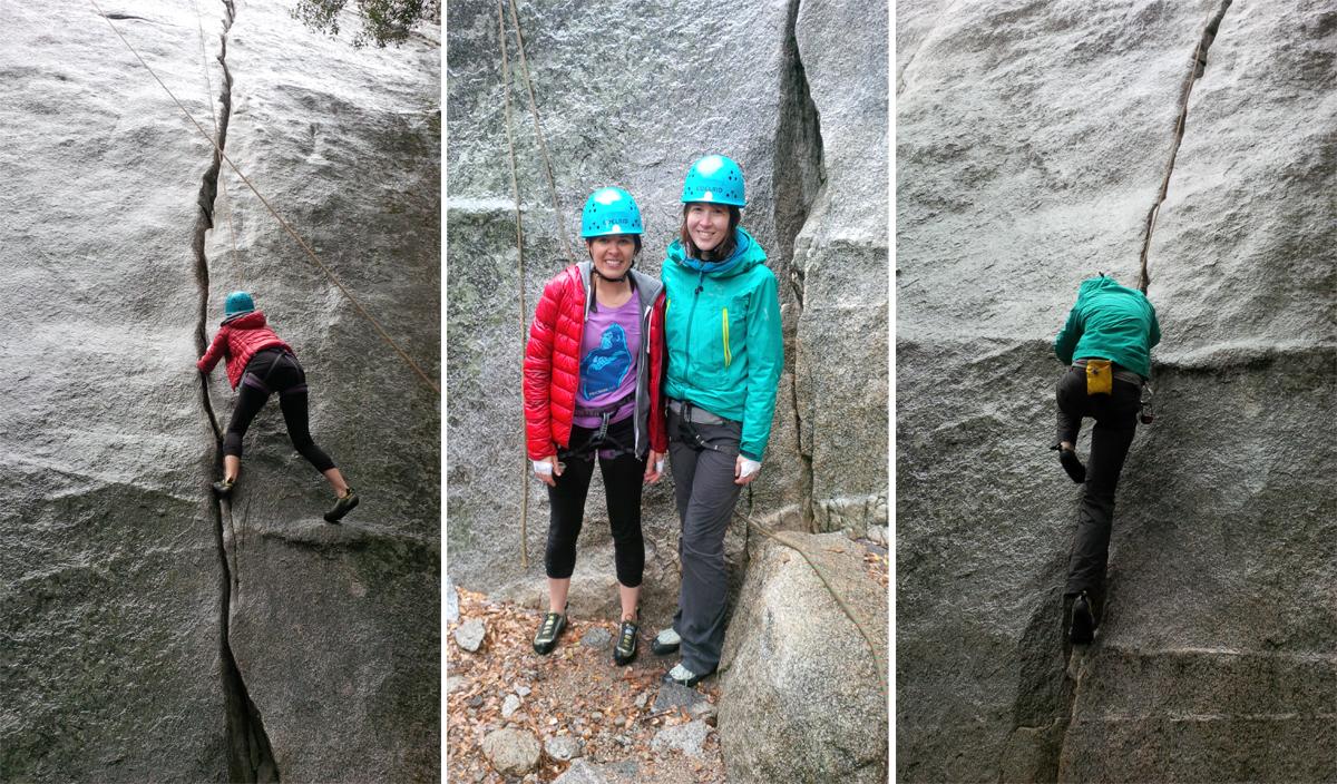 Nancy-Lori-climbs