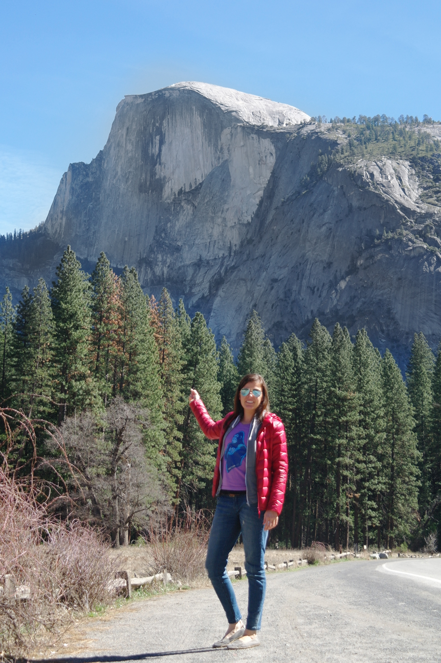 Pointing-to-Half-Dome