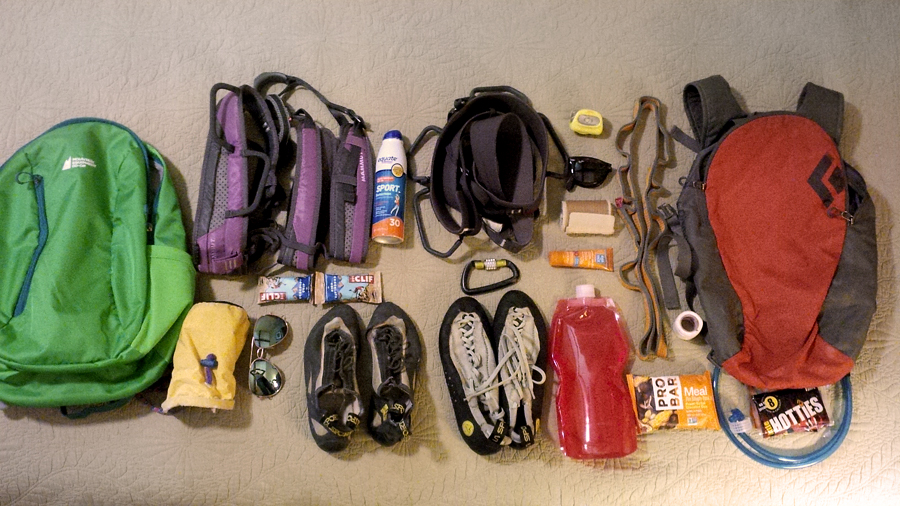 climbing-gear-laid-out