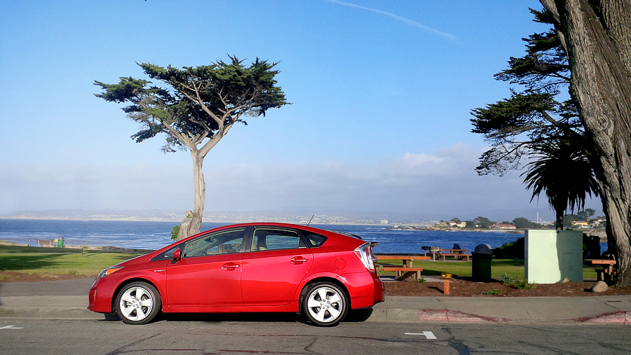 Prius-in-Pacific-Grove