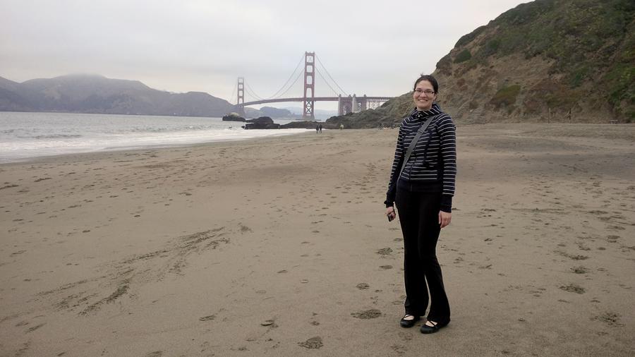 Jenna-on-Baker-Beach