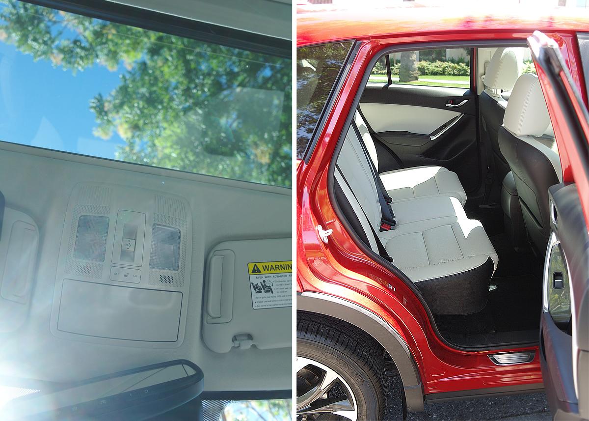 Mazda-Sunroof-and-backseat