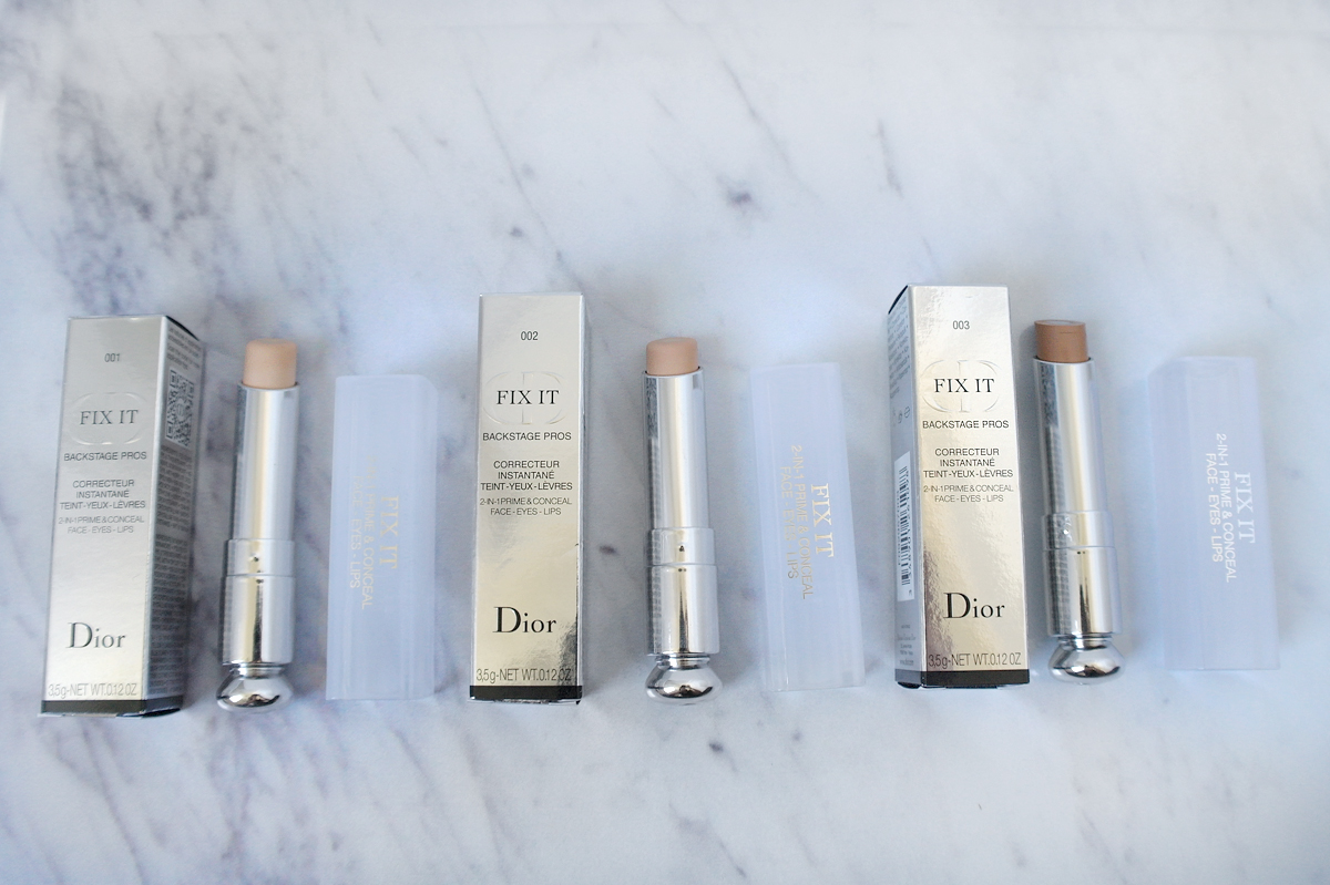 Packaging for Dior Fix It 2-in-1 Prime & Conceal for Face Eyes & Lips