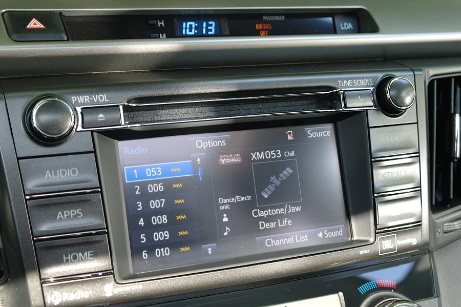 2015 Toyota Rav 4 XM Radio