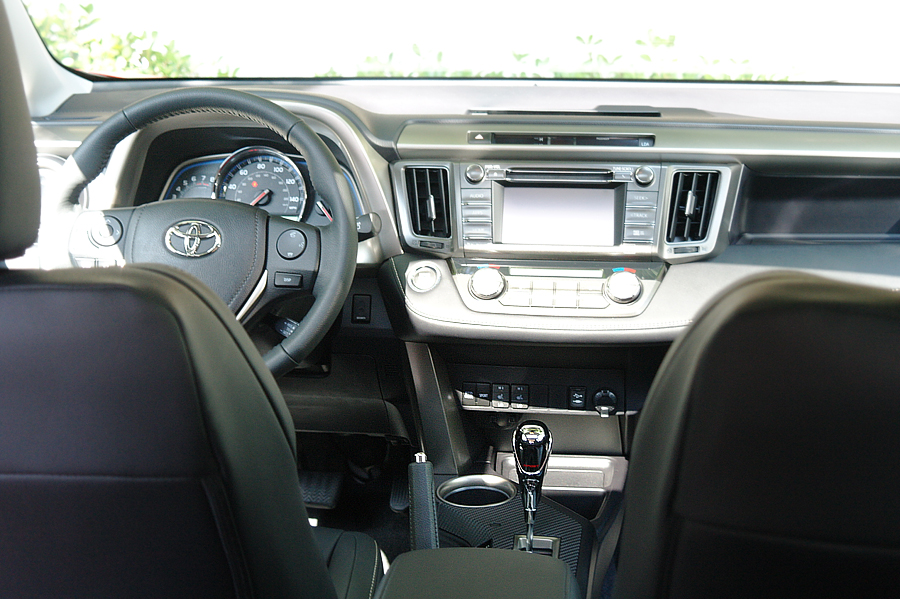 2015 Toyota Rav 4 dashboard