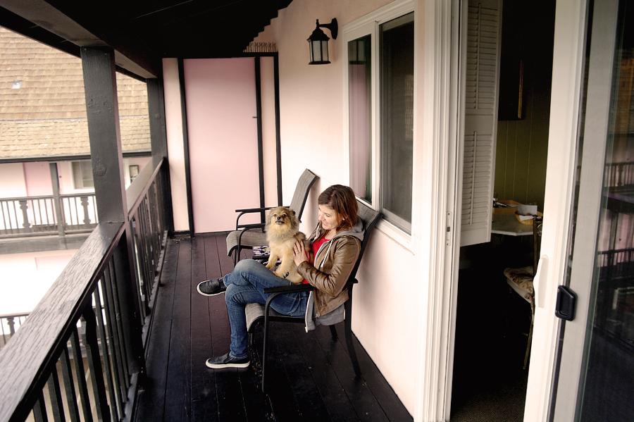 Hofsas-balcony