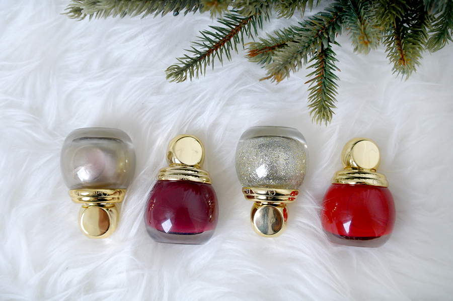 Dior State of Gold nail polishes