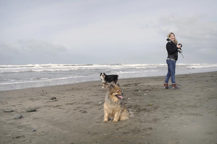 Lauren-and-pups