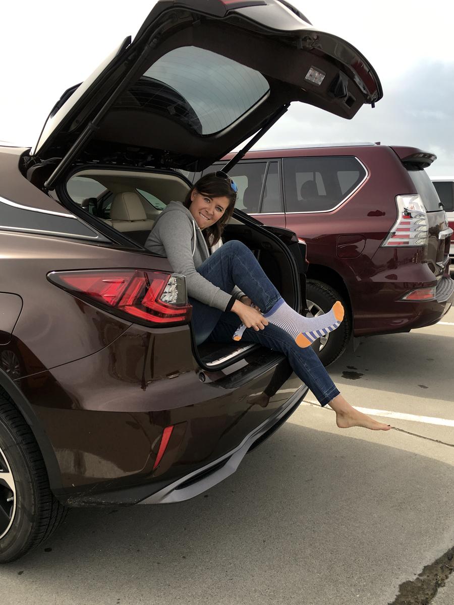 socks-in-trunk