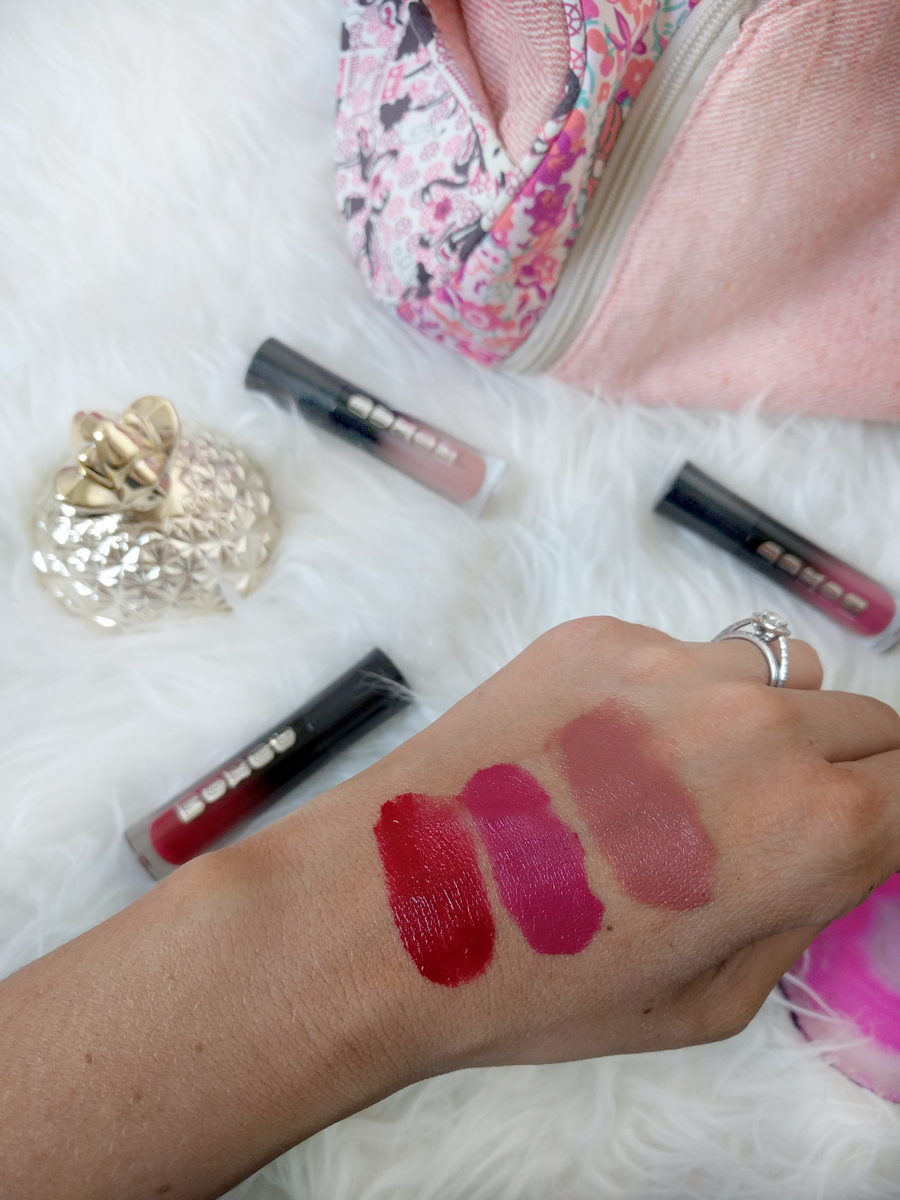 BUXOM Wildly Whipped Liquid Lipsticks swatches