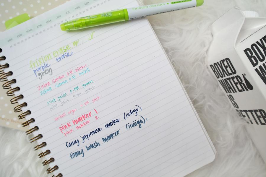 JetPens-writing