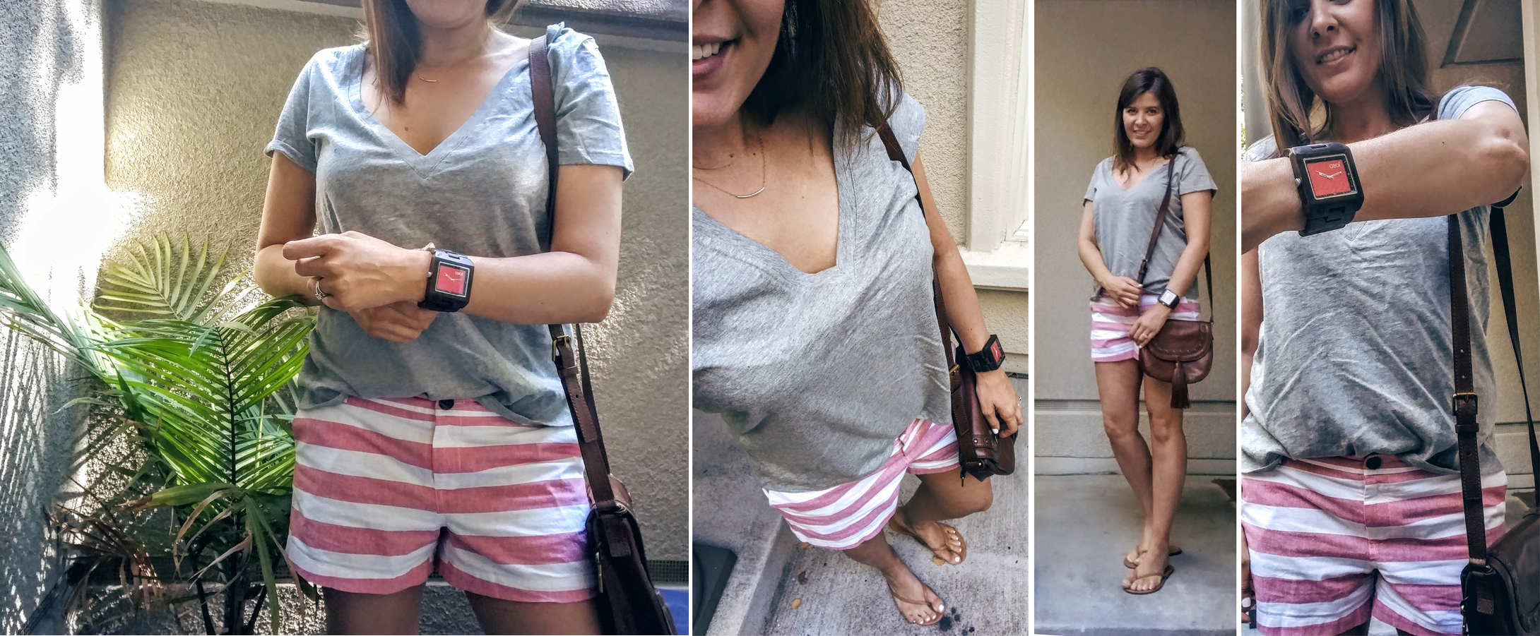 OOTD-with-red-white-shorts
